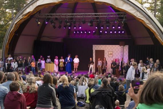 Musical in Openluchttheater  De Pan van Mary Poppins voor kinderen