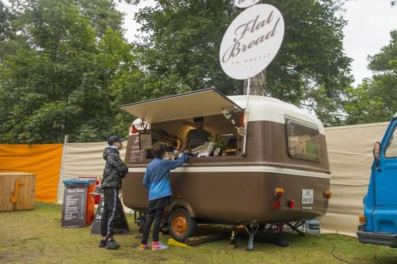 Foodtruck tijdens Bakkum Vertelt Koffie Roast Beans