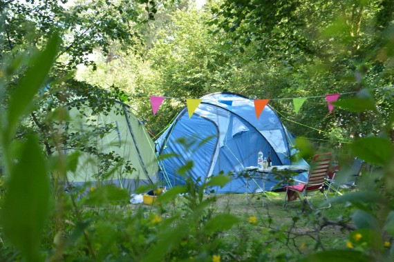 Tentplaatsen zeeduin overzicht